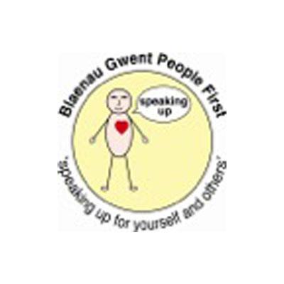Blaenau Gwent People First logo