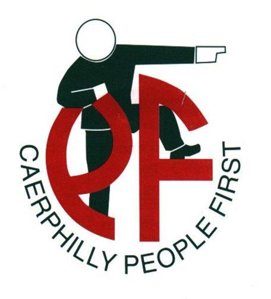Caerphilly People First logo