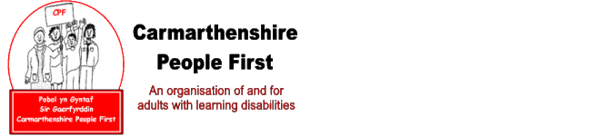 Carmarthenshire People First logo