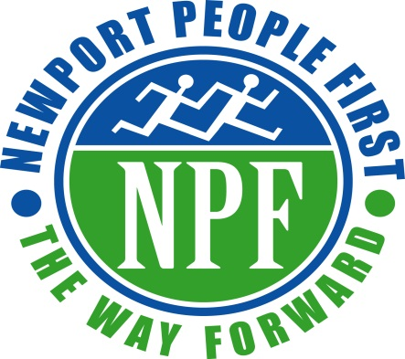 Newport People First logo