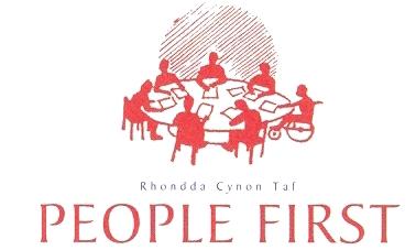 Rhondda Cynon Taf People First logo